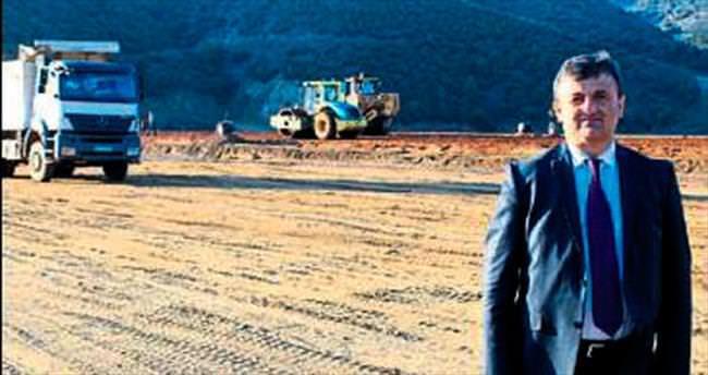Aktaş Barajı'nda gövde dolgusu tamam