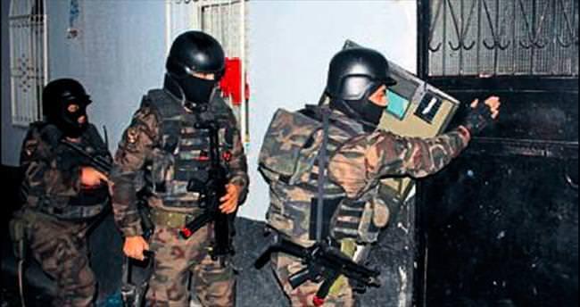 450 polisle uyuşturucu operasyonu