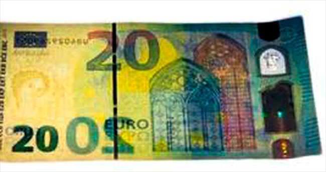 Bundesbank'tan taklidi zor 20 euroluk banknot