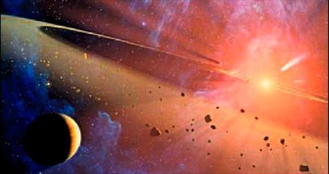 Güneş sisteminde yeni bir gök cismi