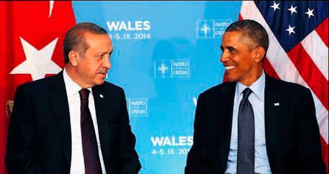 Erdoğan ile Obama Suriye'yi görüşecek