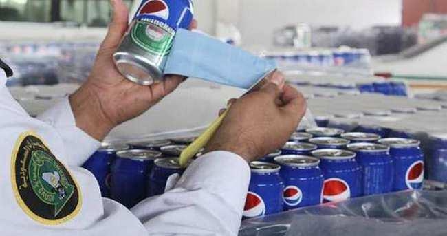 Pepsi etiketiyle bira kaçakçılığı
