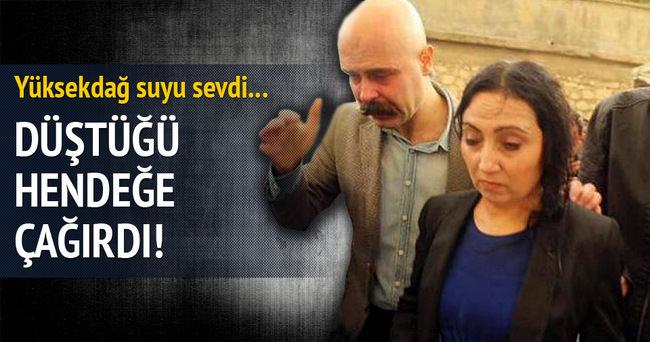 Figen Yüksekdağ halkı sokağa döktü!