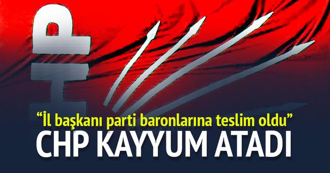 CHP Bolu Merkez İlçe yönetimi görevden alındı