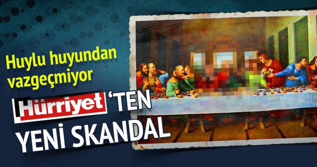 Hürriyet Cumhurbaşkanı'na hakaret etmeye devam ediyor!