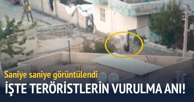 İşte teröristlerin öldürülme anı