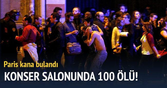 Konser salonunda 100 kişi öldü