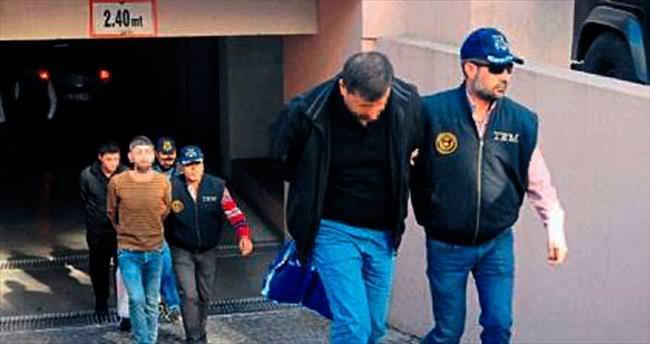 PKK'nın bombacı timi, adliyeye gönderildi