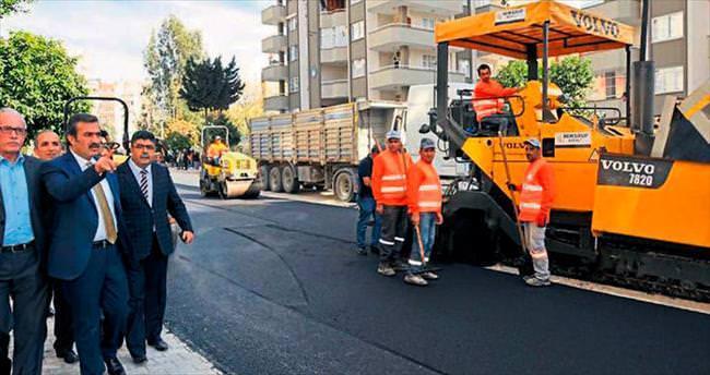 İsyan ettiren yol A kalite asfalt