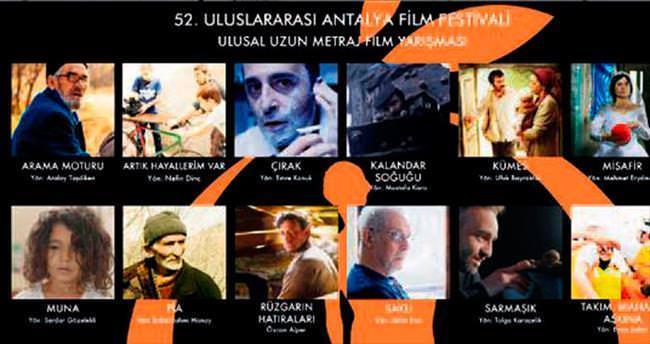Altın Portakal için 12 film yarışacak