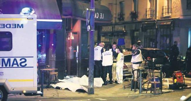 Parİs'te terör dalgası