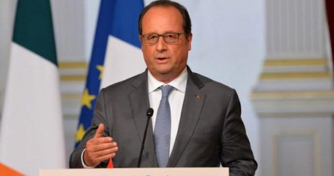 Hollande'den flaş açıklama!