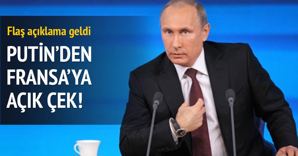 Putin: Her türlü desteğe hazırız