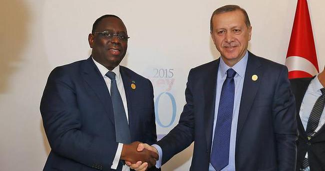 Erdoğan G20'de Senegal Cumhurbaşkanı ile görüştü