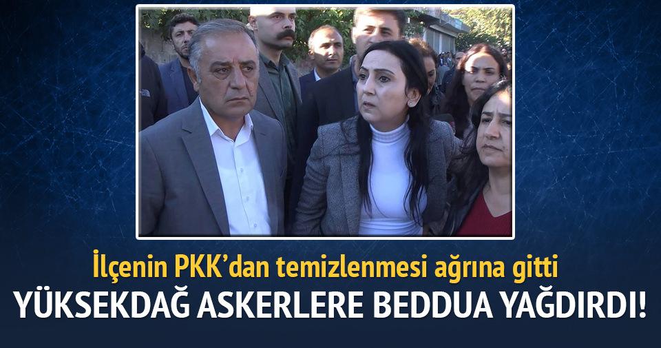 Figen Yüksekdağ: Askerlere hakaret etti
