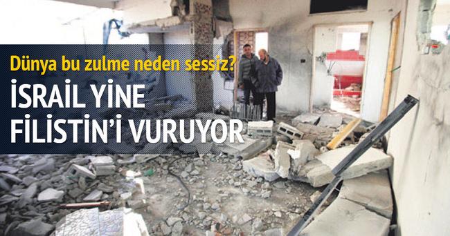 İsrail, 4 Filistinli'nin evini havaya uçurdu