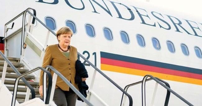 Almanya Başbakanı Merkel, Antalya'ya geldi