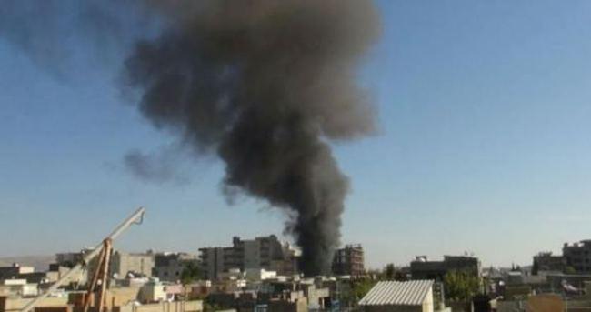 Nusaybin'de dumanlar yükseliyor
