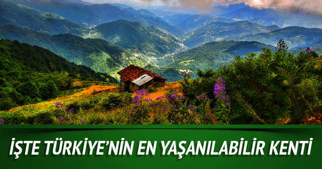 Trabzon, Türkiye'nin en yaşanılabilir kenti