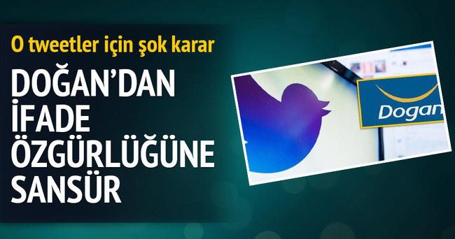 Doğan Grubu 57 tweet için sansür kararı çıkarttı