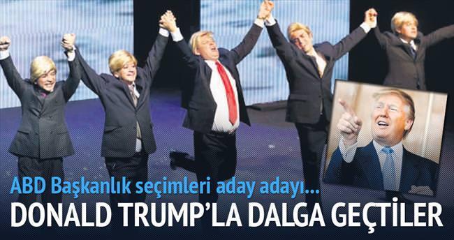 Meksikalılar Trump'a güldü