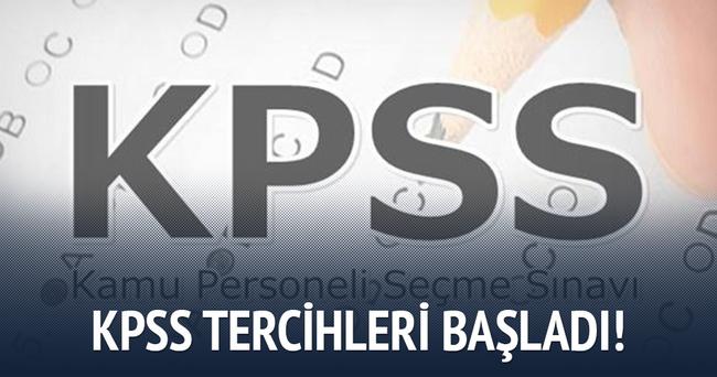 ÖSYM - KPSS Kasım atamaları için tercihler başladı!