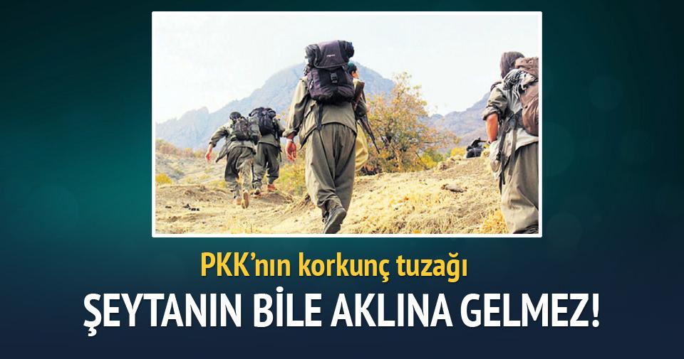 PKK'lılar bombaları polisin eşyası arasında getirmiş