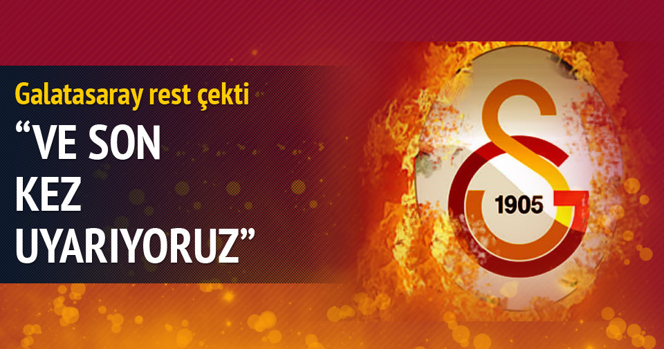 Galatasaray'dan TBF'ye sert açıklama