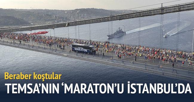 Temsa'nın 'Maraton'u İstanbul'da