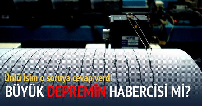 İstanbul'daki son deprem, büyük depremin habercisi mi?