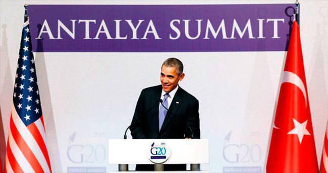 Obama: Hedefimiz zalim IŞİD örgütünü yok etmek