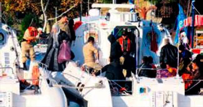 Çanakkale'de dün 88 kaçak daha yakalandı