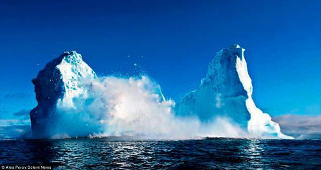 Dev buzul ikiye ayrıldı