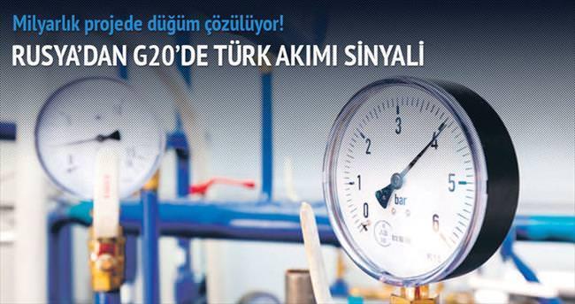 Rusya'dan G20'de Türk Akımı sinyali