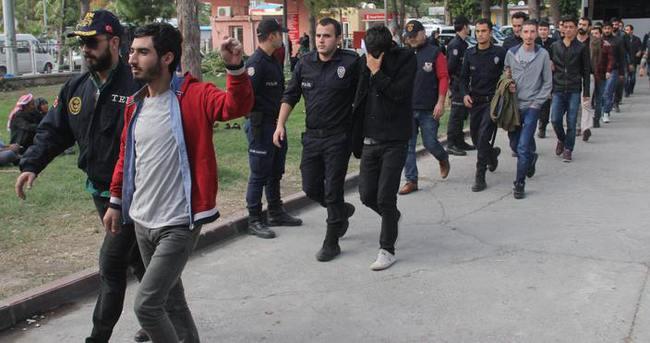 PKK'ya yönelik operasyonda 20 şüpheliden 5'i tutuklandı