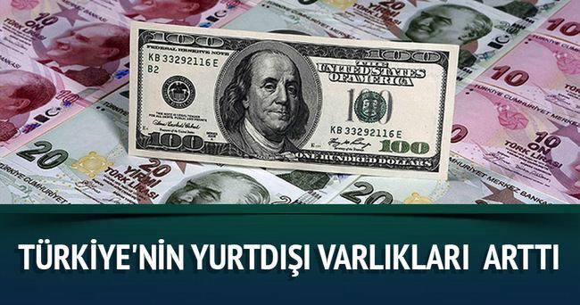 Türkiye'nin yurtdışı varlıkları Eylül'de yüzde 2,4 arttı