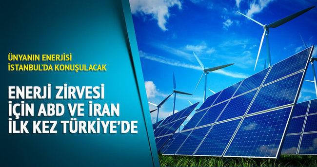 Dünyanın enerjisi İstanbul'da konuşulacak