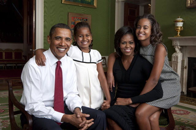 Obama'ların hayatı!