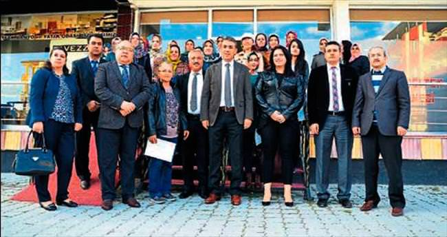 Elbistan'da kadın girişimciler sertifika aldı