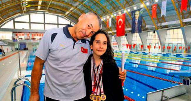 Görme engelli Nisa'nın hedefi 2020 Olimpiyatları