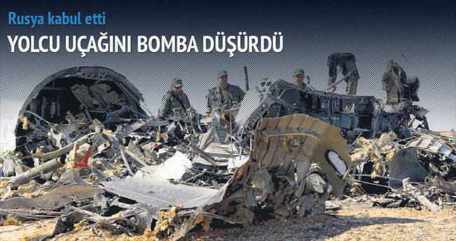 Rusya kabul etti: Yolcu uçağını bomba düşürdü