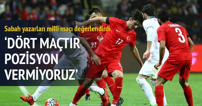 Yazarlar Türkiye-Yunanistan maçını yorumladı