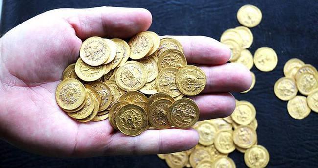 Çin'de iki bin yıllık altın sikke bulundu