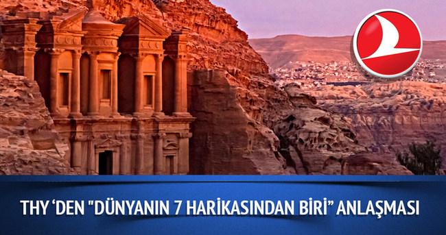THY, antik kent Petra ile anlaşma imzaladı