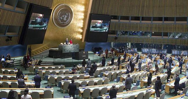BM'de terör kurbanları için saygı duruşu