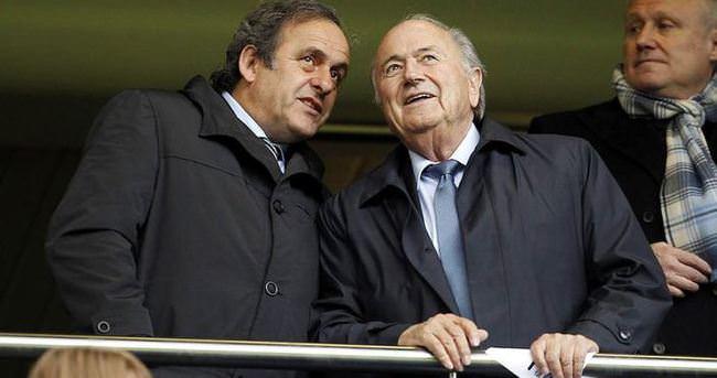 FIFA, Platini ve Blatter'in itirazını reddetti