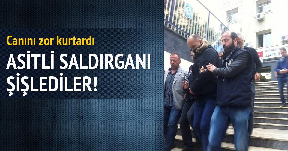 Asitli saldırgana cezaevinde saldırı