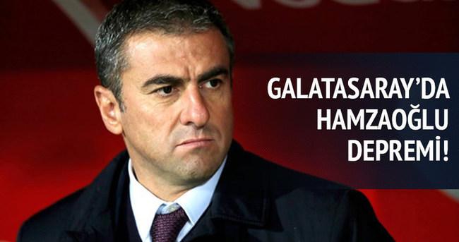 Galatasaray'da Hamzaoğlu depremi!
