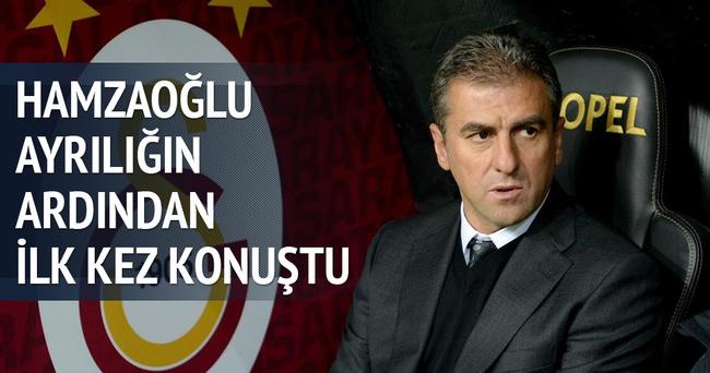 Hamzaoğlu ayrılığın ardından ilk kez konuştu!