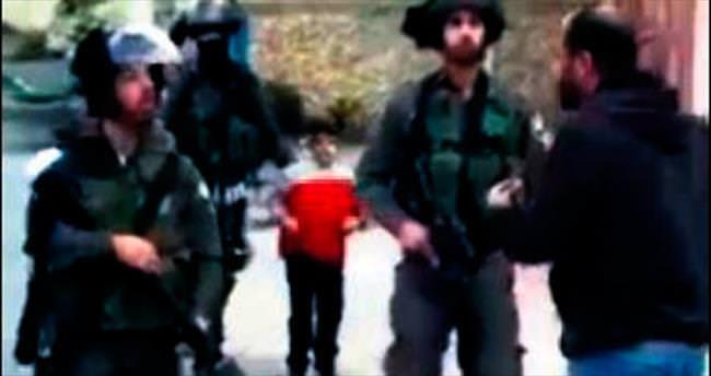6 yaşındaki Filistinli çocuğu tutukladılar